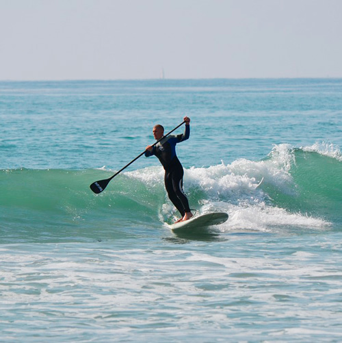 paddle-surf
